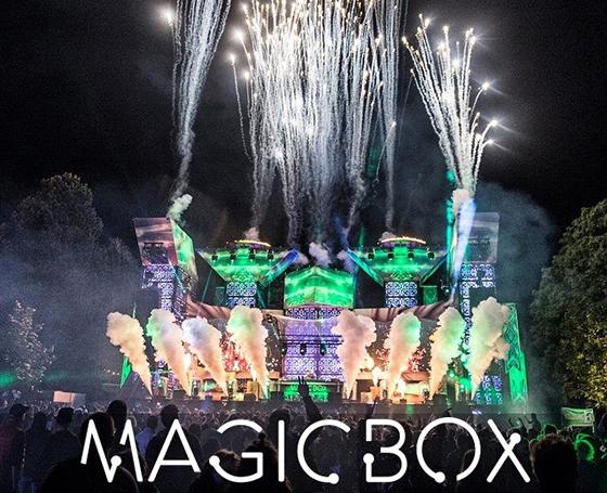 MAGICBOX på Tinderbox / Odense